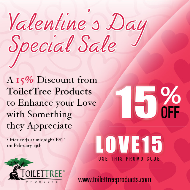 "Use Valentine's Day special coupon ""LOVE15"" and get flat 15% off"