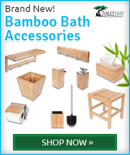 Shop eco-friendly bamboo bathroom products and accessories